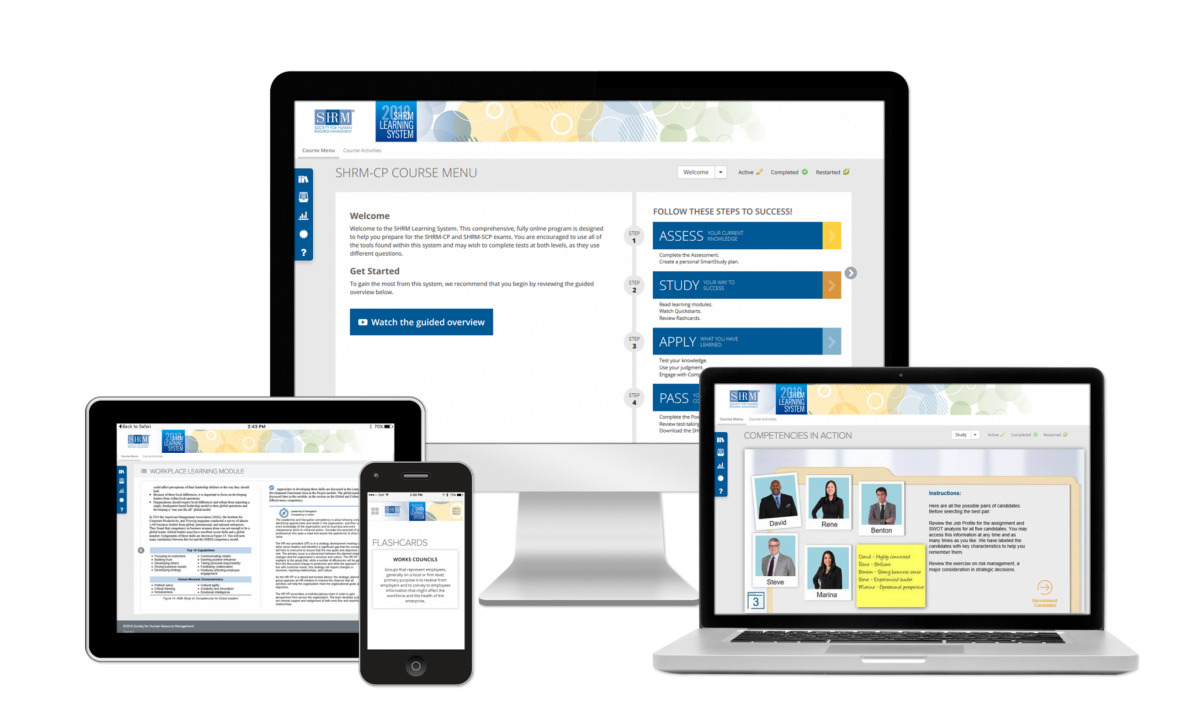 Shrm learning system devices 1betcityfo Images
